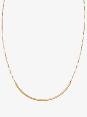 GoldTone Convertible Necklace Michael Kors