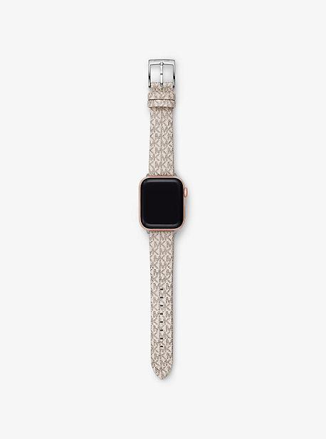마이클 코어스 Michael Kors Logo Strap For Apple Watch,VANILLA