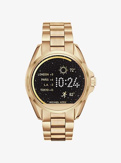 fe0410ddd4 Bradshaw Gold-tone Smartwatch