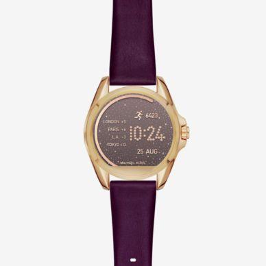 Bradshaw Sable Tone Smartwatch Michael Kors