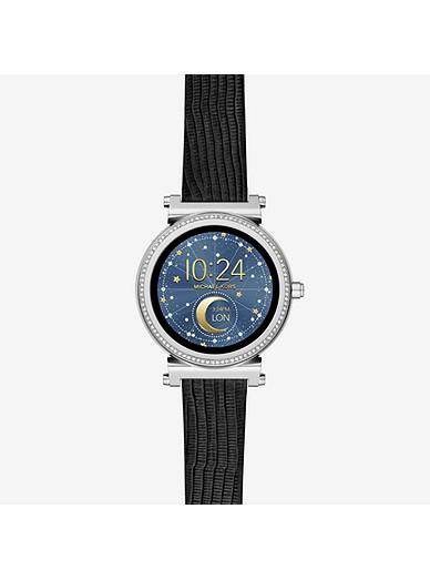 dcf424affeb2 Sofie Pavé Silver-tone Smartwatch