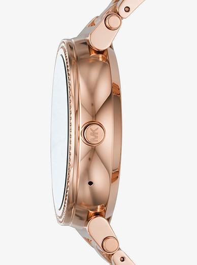 8b51da3d0bdc Sofie Pavé Rose Gold-tone Smartwatch