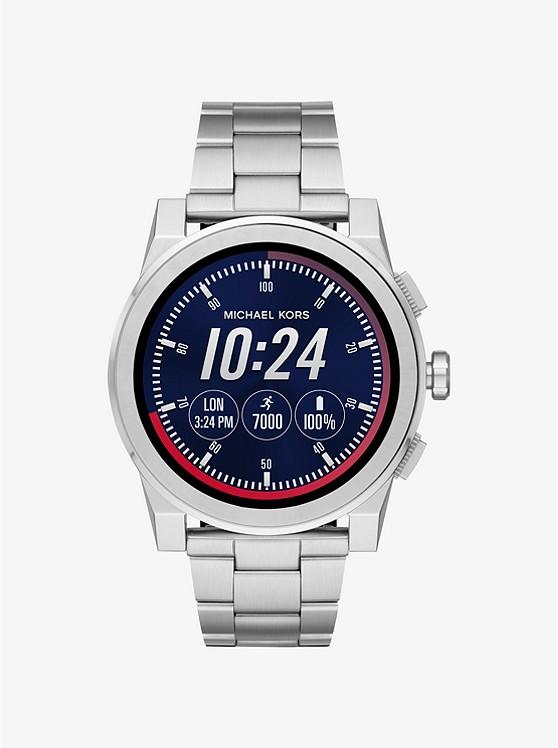 Grayson Silver-Tone Smartwatch