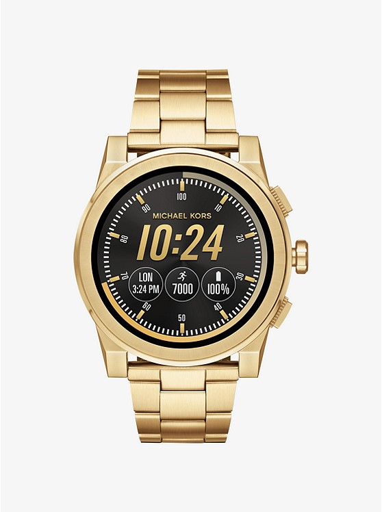 Grayson Gold-Tone Smartwatch