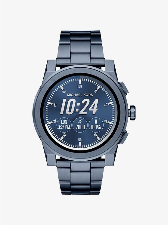 Grayson Navy-Tone Smartwatch