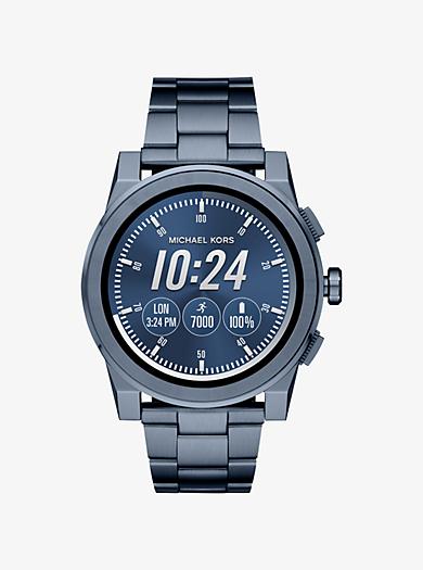 c7001fe4a125 Grayson Navy-Tone Smartwatch · michael kors access ...