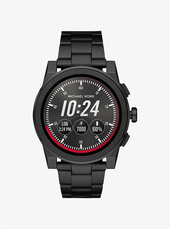 Grayson Black-Tone Smartwatch