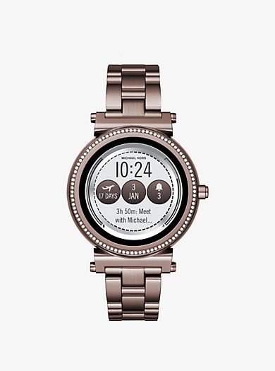 QUICKVIEW. michael kors access �� Sofie Pav�� Sable-Tone Smartwatch ��  $350.00$350.00