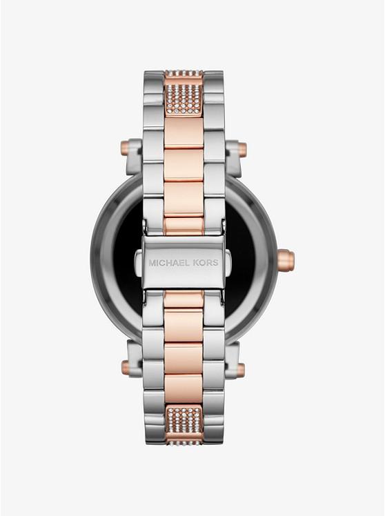 de7018963872 ... Sofie Pavé Two-Tone Smartwatch ...