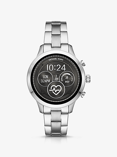 64f0170350 Smartwatch Runway Heart Rate tonalità argento. michael kors ...