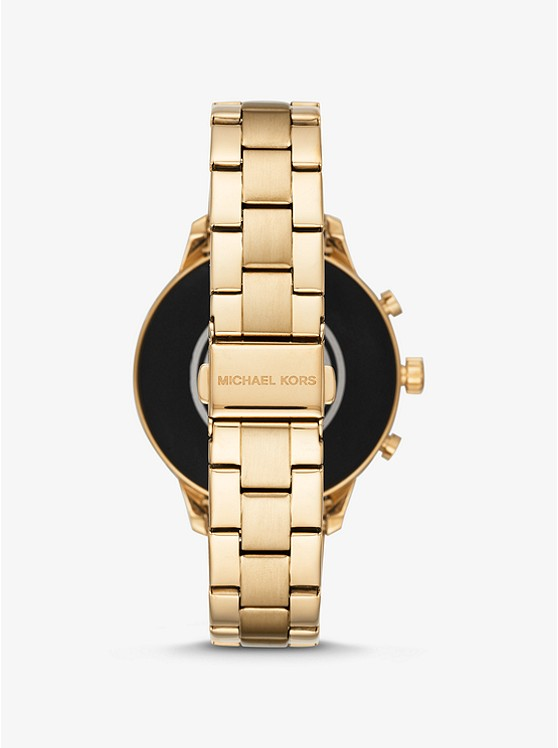 Runway Gold-Tone Smartwatch_preview2