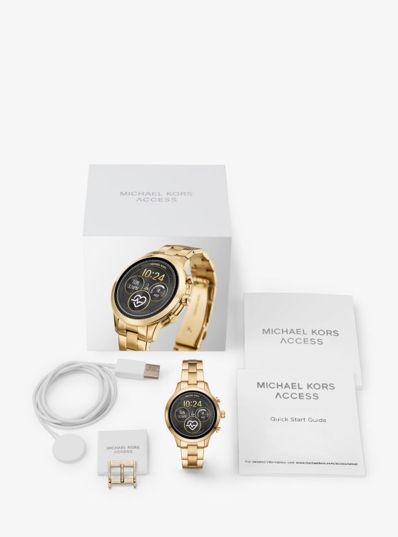 Runway Gold-Tone Smartwatch_preview4