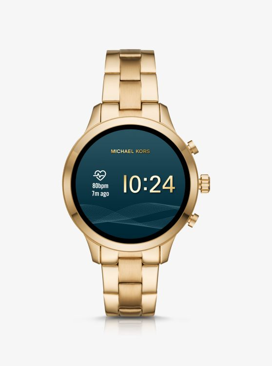 Runway Gold-Tone Smartwatch_preview5