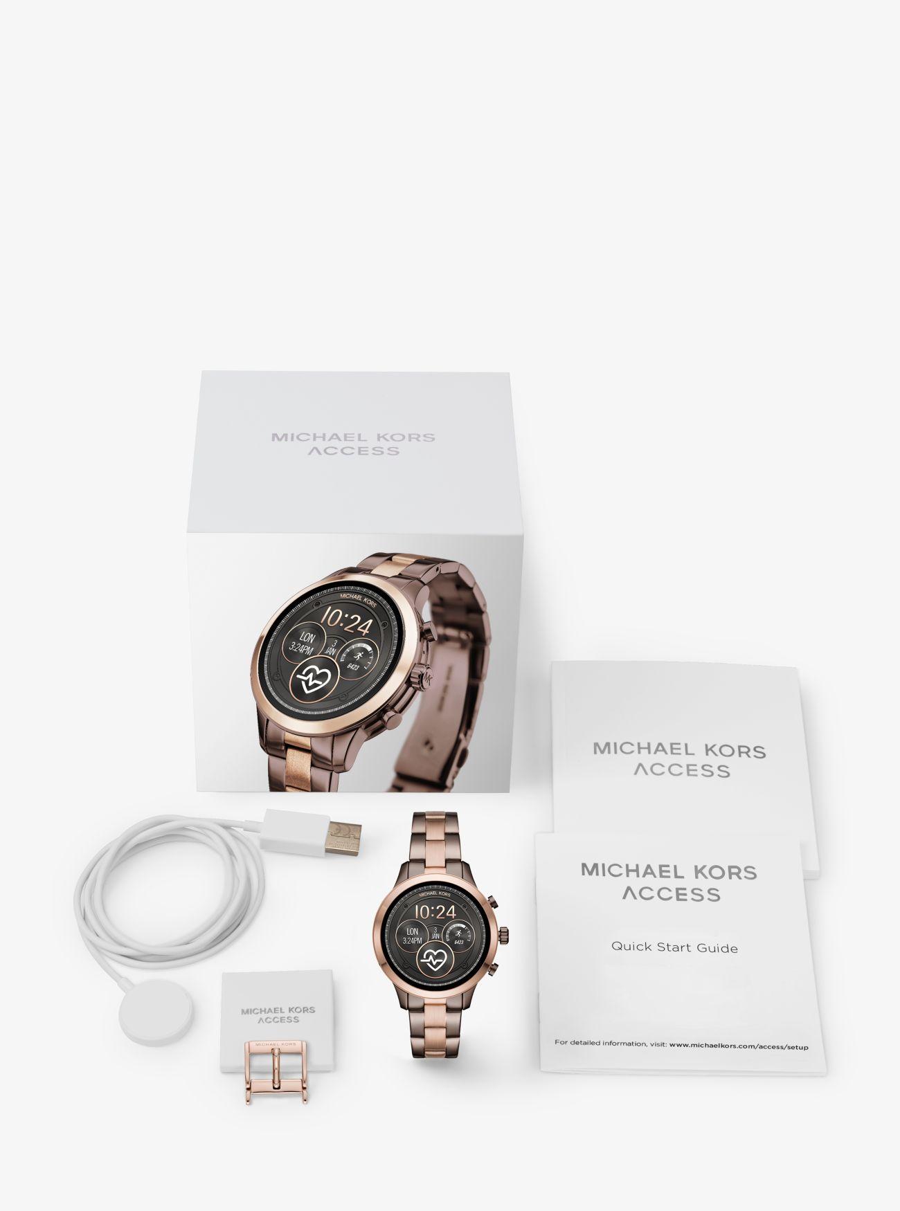 62a5df7b1399 ... Runway Two-Tone Smartwatch ...