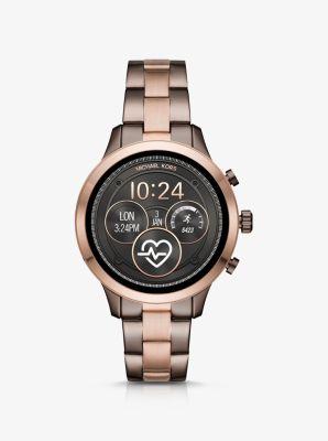 Inteligente Heart Rate Dos TonosMichael Reloj En Kors Runway nwvm8ON0