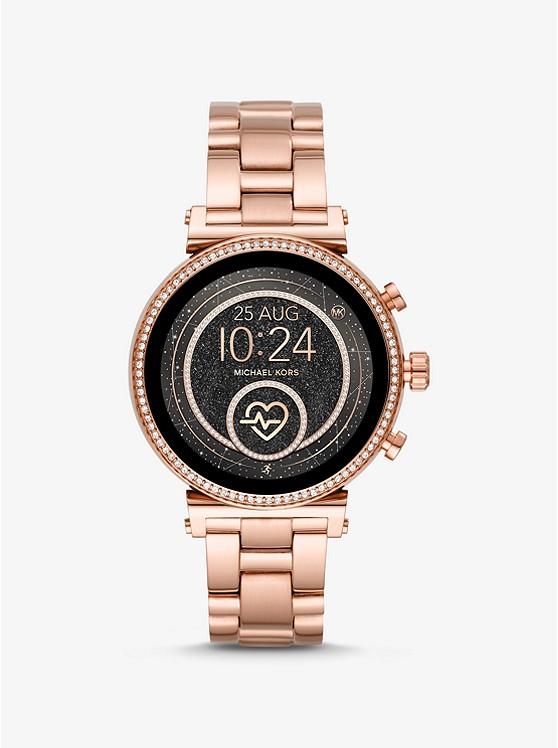 Smartwatch Sofie Heart Rate tonalità oro rosa