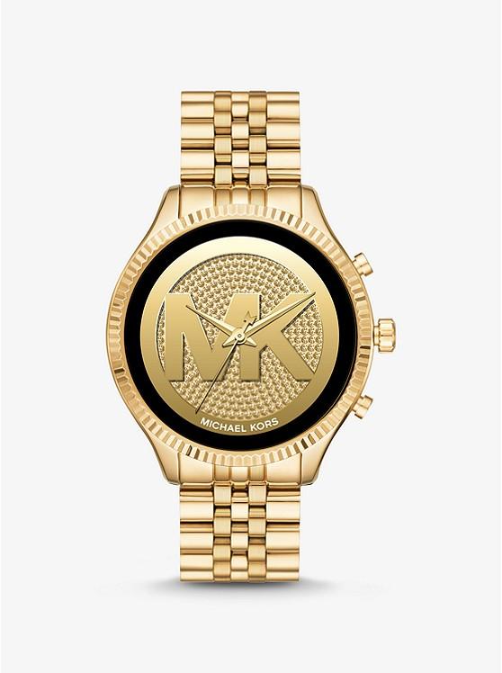 Gen 5 Lexington Gold-Tone Smartwatch