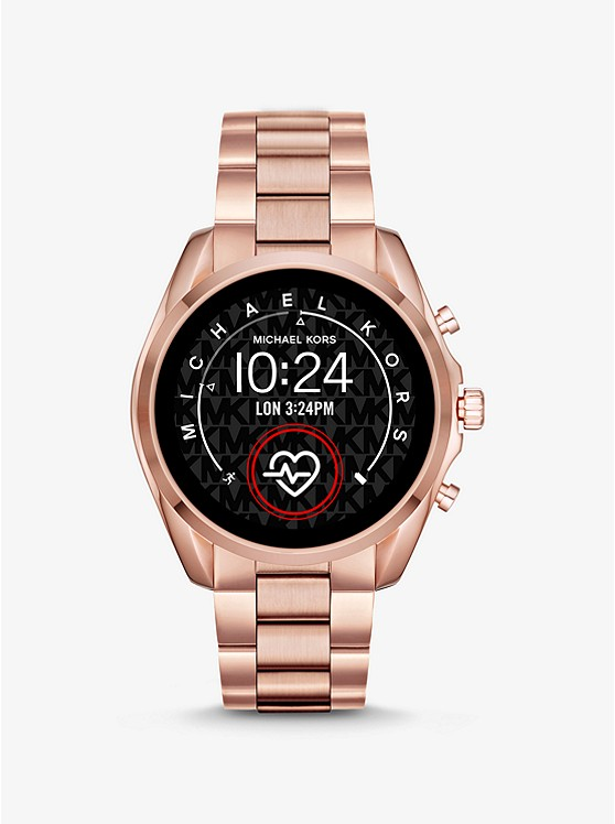 Bradshaw 2 Rose Gold Tone Smartwatch by Michael Kors Access