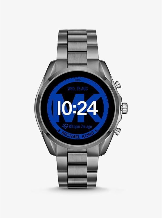 Gen 5 Bradshaw Gunmetal-Tone Smartwatch