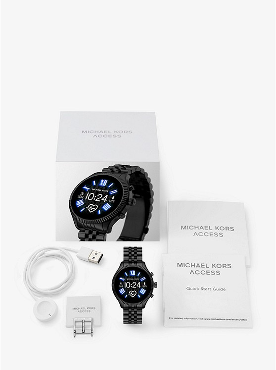 Gen 5 Lexington Black-Tone Smartwatch