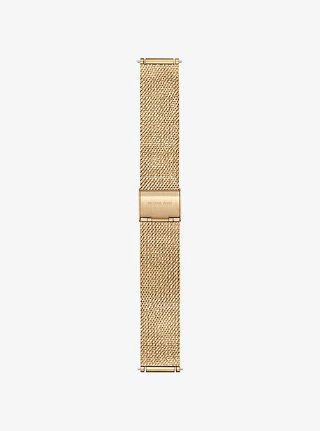 마이클 코어스 Michael Kors Gen 3 Sofie Gold-Tone Smartwatch Strap,GOLD