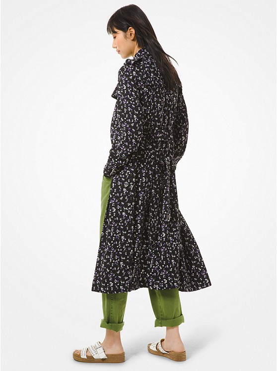 Floral Cady Trench CoatFloral Cady Trench Coat