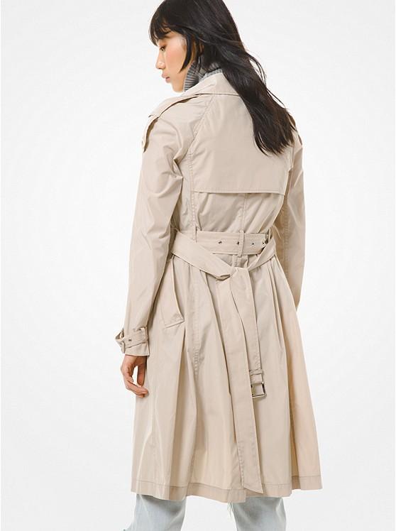 Packable Trench Coat