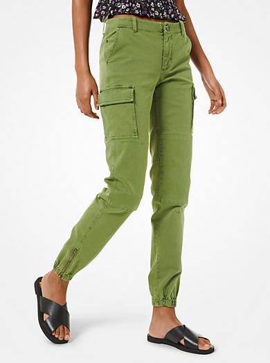 Pantalone cargo in denim