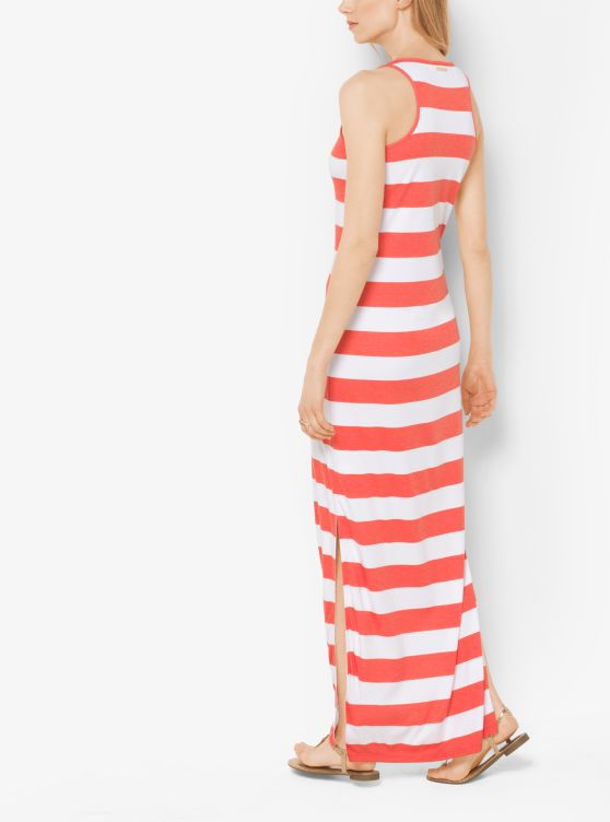Striped Jersey Maxi Dress _preview1