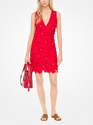 QUICKVIEW · michael michael kors · Floral Appliqué Lace Dress
