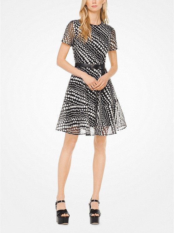 Eastbay Online Cold Shoulder Floral Embroidered Dress Minuet Cheap Sale Get To Buy o4Gbt