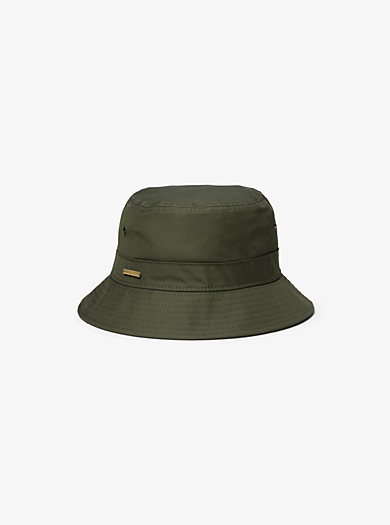 2f706d0efa8 Cotton-Blend Bucket Hat · michael michael kors ...