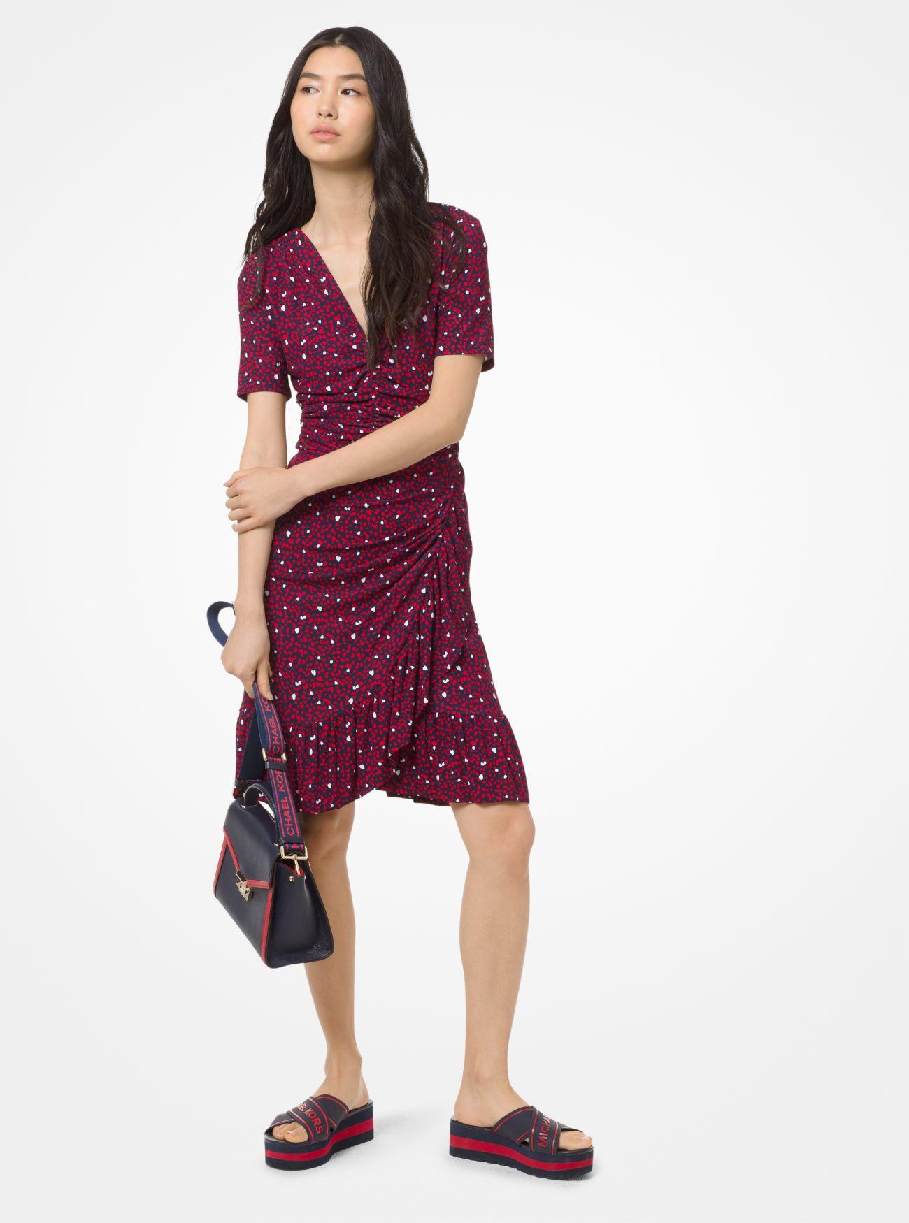 Mini Heart Dress Whitney Satchel Demi Sandal Michael Kors
