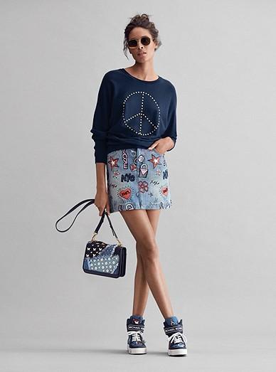 828933c82 Studded Pullover, Embroidered Skirt, Mott Crossbody, Trent Sneaker ...