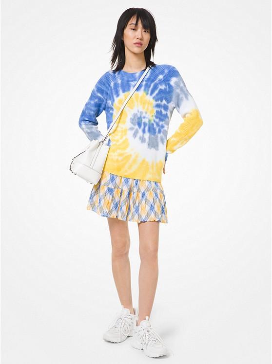 Tie Dye Supima Cotton Sweater