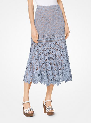 michael michael kors · Floral Lace Skirt · $195.00$195.00 · QUICKVIEW