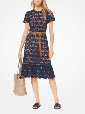 1ba5190ec4540 Floral Lace Dress | Michael Kors