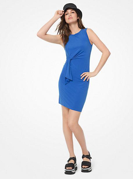 f17f6443d5 Twist-Front Matte-Jersey Dress
