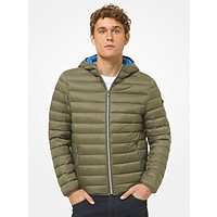 Michael Kors Mens Quilted Nylon Puffer Jacket Deals